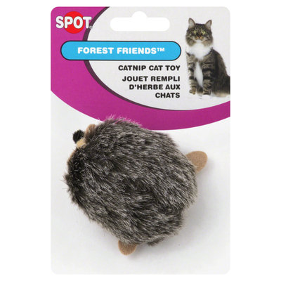 Young W F Inc Ethical Products Inc. Cat Toy, Catnip, Forest Friends, 1 toy