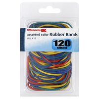 Officemate Rubber Bands, Assorted Color, Size No. 16, 120 count