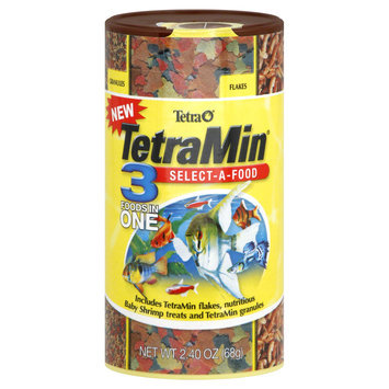 Tetra TetraMin Flakes Select-a-Food