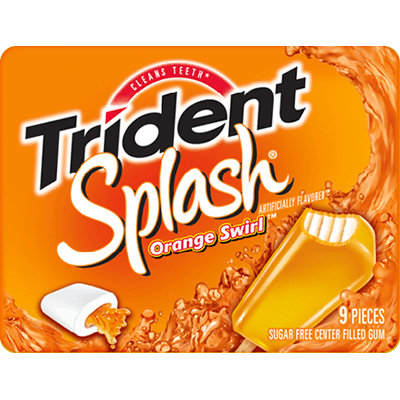 Trident Splash  Orange Swirl™