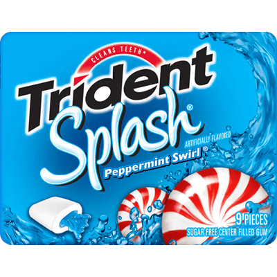 Trident Splash Peppermint Swirl®