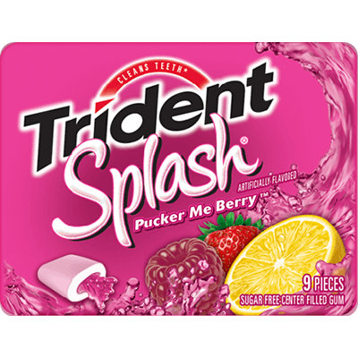 Trident Splash® Pucker Me Berry™