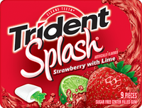 Trident Splash Strawberry with Lime