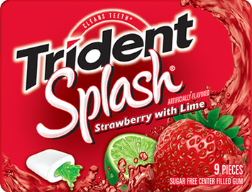 Trident Splash Strawberry with Lime