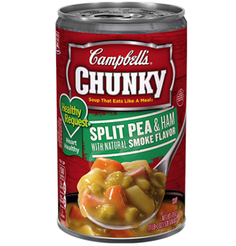 Campbell's® Healthy Request® Split Pea and Ham Soup with Natural Smoked Flavor