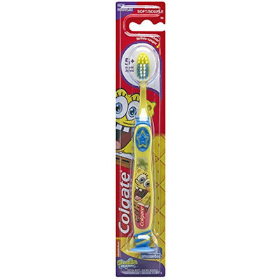 Colgate® Kids SpongeBob SQUAREPANTS™ Toothbrush with Suction Cup