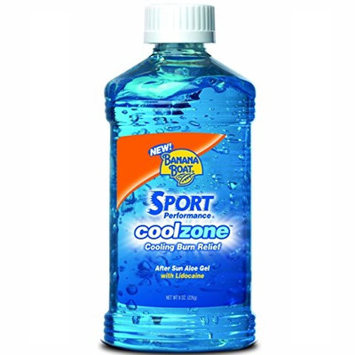 Banana Boat Sport Performance Cool Zone With After Sun Aloe Burn Relief Gel