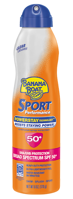 Banana Boat Sport UltraMist Sunscreen SPF 50