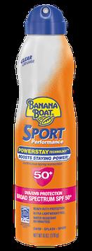 Banana Boat Sport Performance UltraMist Sunscreen SPF 50