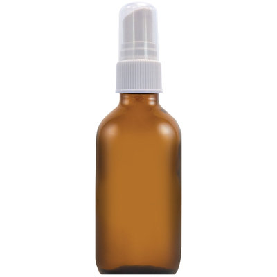 Piping Rock Spray Bottle 2 oz Glass Amber