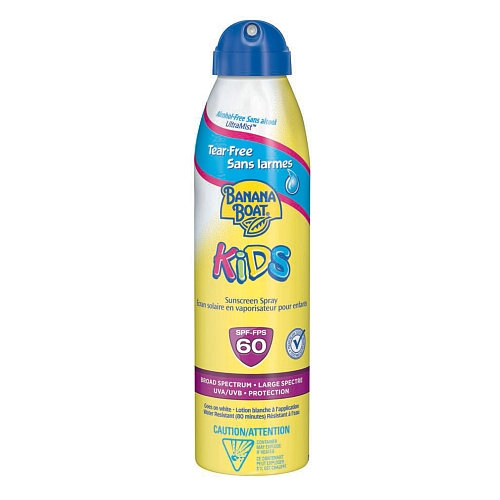 Banana Boat Kids Tear-Free UltraMist Sunscreen Spray With SPF 60