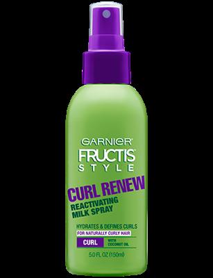 Garnier Fructis Curl Renew Reactivating Milk Spray