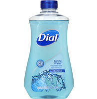 Dial® Spring Water Antibacterial Liquid Hand Soap with Moisturizer Refill