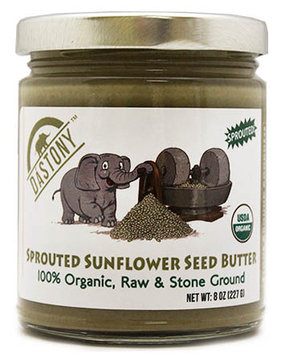 Dastony Organic Sunflower Seed Butter-8 oz Jar