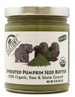 Windy City Organics Dastony Sprouted Pumpkin Seed Butter - 8 oz - Vegan