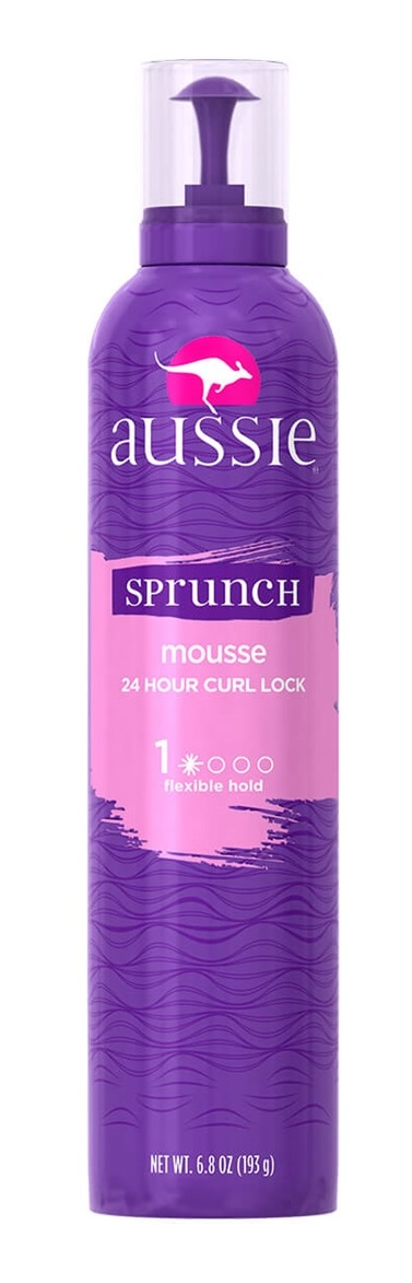 Aussie Sprunch Hair Mousse + Leave-in Conditioner