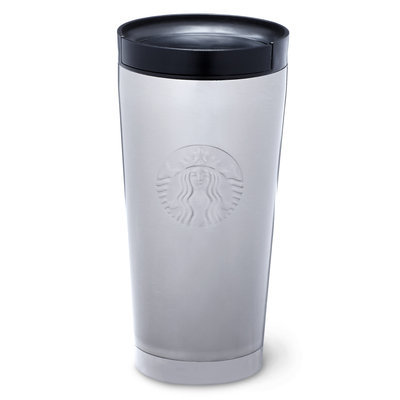Starbucks Stainless Steel Logo Tumbler, 16 Fl Oz