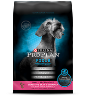 PRO PLAN® FOCUS SMALL BREED ADULT Sensitive Skin & Stomach Salmon & Rice Formula