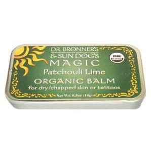 Dr. Bronner's & Sun Dog's Magic Patchouli Lime Organic Balm