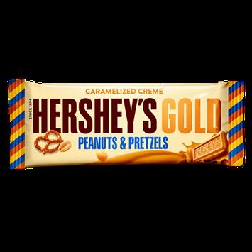 Hershey's Gold Peanuts & Pretzels in Caramelized Crème