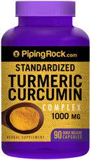 Piping Rock Turmeric Extract Curcumin 1000mg 90 Capsules