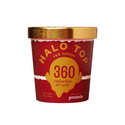 Halo Top Red Velvet Ice Cream
