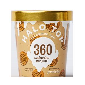 Halo Top Cinnamon Roll Ice Cream