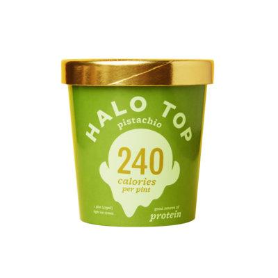 Halo Top Pistachio Ice Cream
