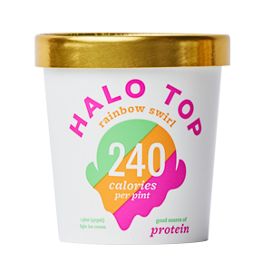 Halo Top Rainbow Swirl Ice Cream