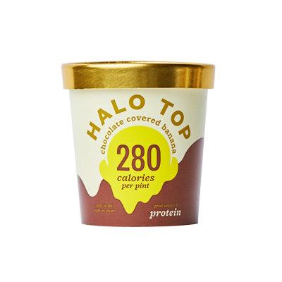 Halo Top Chocolate Covered Banana Ice Cream