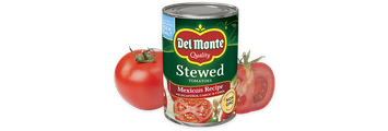Del Monte® Mexican Recipe Stewed Tomatoes with Jalapeño, Garlic & Cumin