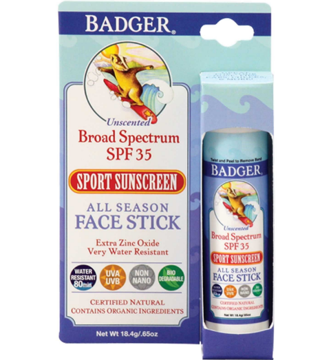 BADGER® Sport Sunscreen Stick SPF 35