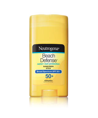 Neutrogena Beach Defense Water + Sun Protection Sunscreen Stick with Broad Spectrum SPF 50+
