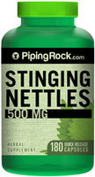Piping Rock Stinging Nettles 500mg 180 Capsules