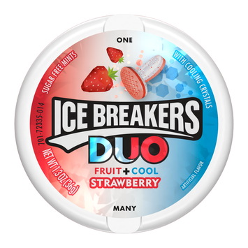 Hershey's Ice Breakers Duo Mints Strawberry