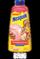 Nestle Nesquik Strawberry Flavored Syrup Plastic Bottle