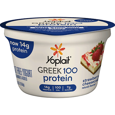 Yoplait® Greek 100 Protein Strawberry Cheesecake Fat Free Yogurt