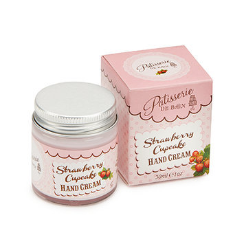 Rose & Co Strawberry Cupcake Hand Cream Jar 30ml