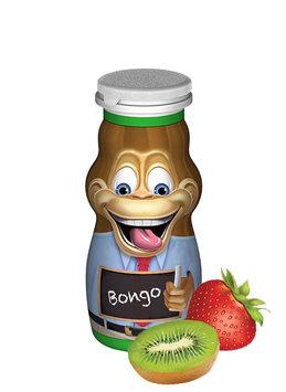 Danimals® Strikin' Strawberry Kiwi® Smoothie