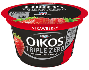 DANNON® OIKOS® TRIPLE ZERO STRAWBERRY