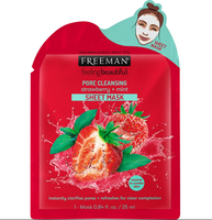 Freeman Pore Cleansing Strawberry & Mint Sheet Mask