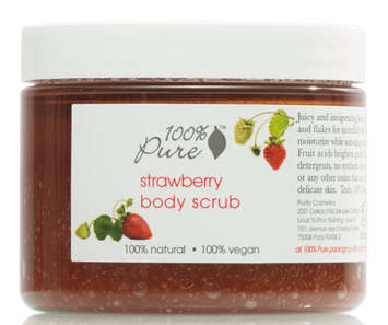 100% Pure Strawberry Body Scrub