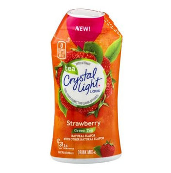 Crystal Light Liquid Drink Mix Strawberry Green Tea