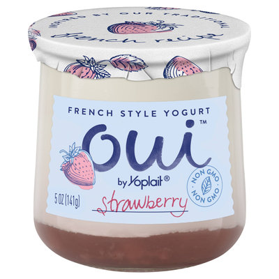 Oui™ Yoplait® Strawberry Flavored French Style Yogurt
