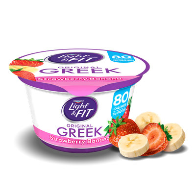 Light & Fit® Strawberry Banana Greek Nonfat Yogurt