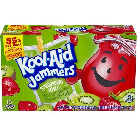 Kool-Aid Jammers Strawberry Kiwi Flavored Drink