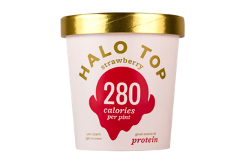 Halo Top Strawberry Ice Cream