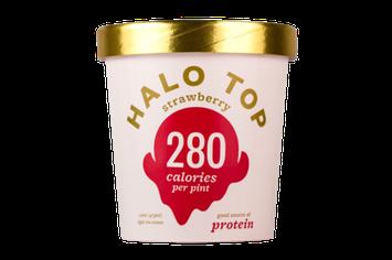 Halo Top Strawberry Ice Cream