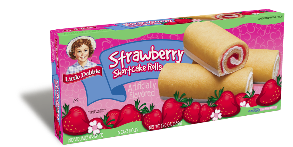 Little Debbie® Strawberry Shortcake Rolls