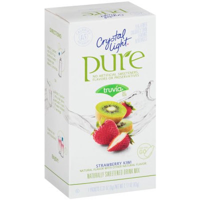 Crystal Light Pure On the Go Strawberry Kiwi Drink Mix